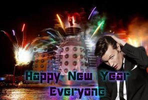 Happy New Year From The Doctor by icewormie