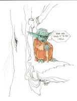 Commssion for Jacob YODA by rantz