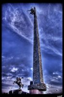 At the Victory Park II HDR by ISIK5