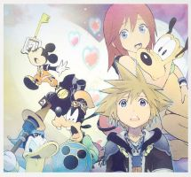 Kingdom Hearts ID by DarknessMyrkur