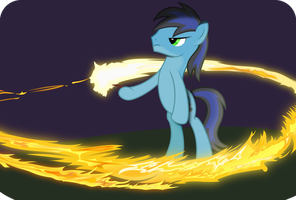 Paint the sky with fire by Hourglass-Vectors