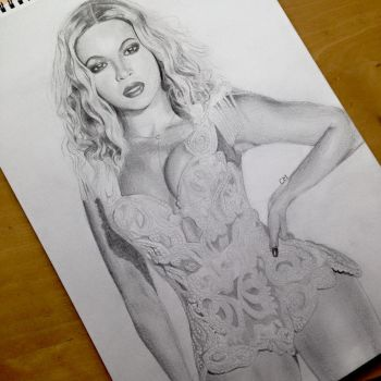 Beyonce by DutchCow