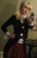 Maka Soul Eater Cosplay WIP by broken-with-roses