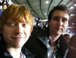Matt Lewis and Rupert Grint by ShidoLionheart