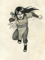 Orochimaru attack by Sikarbi