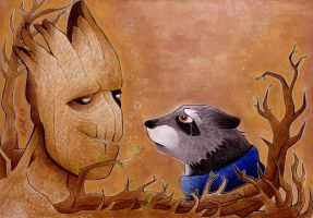 We are Groot by syxx