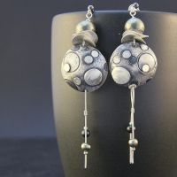 Moon Earrings by skladsznurowadel