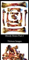527 - Bloody Bones Pack I by Blood--Stock