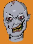 New Zombie sketch: scanned and colored by artbymike08