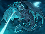 Electric Dragon, Electric Elemental by Dragoart