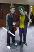 AWA 2012 Cosplayers - Two Jokers by LordNobleheart