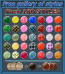 180 styles    Pack  by Photos-Loutche