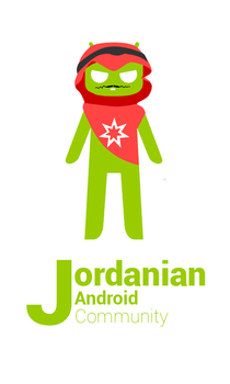 Jordanian Android Community Mascot by Bewinxed