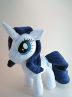 Rarity Plushie by Brainbread