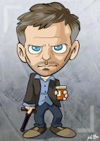 House MD Art Card by kevinbolk