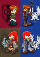 Sonic Age: Sally and Knuckles - After Deep Roads by Zephyros-Phoenix