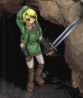 Link, he come to town. by suppichan