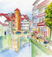 Viel Annecy by dessinateur777
