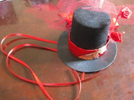 Red Silk Top Hat II by mad-hatter-inc