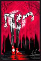 red shoes by UrielKaido