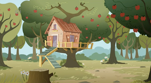 Cutie Mark Crusader Treehouse by CellularSP