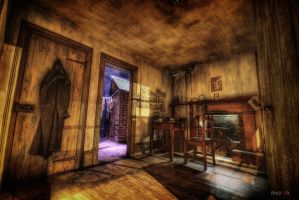 hdr - cowboy house 01 by mayonzz