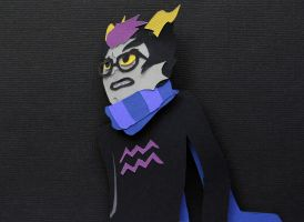 Eridan Ampora Papercraft by koreandrawer