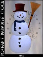 Snowman 014 by poserfan-stock