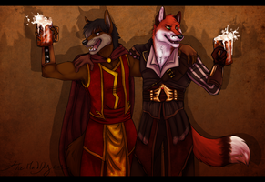 Let's Have Another Round On The House by JasonWerefox