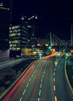 On the road by Alexandre-Bordereau