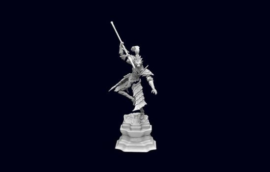 New Ornstein model Pose 2 WIP by MichaelEastwood