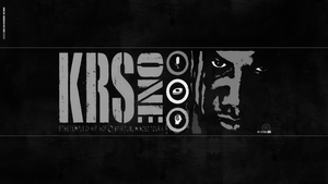Krs ONE by lethalNIK-ART