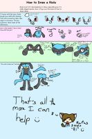 Riolu drawing pointers by MystykNess