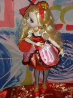 Apple with purse by Bj-Lydia