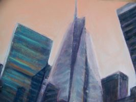 NY City Buildings by Wulff-Arts