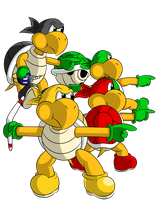 Assemble, Koopa Bros. by faren916