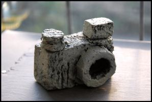Focus stone age camera by Photogenic5