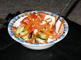 The Perfect Salad by Rozax