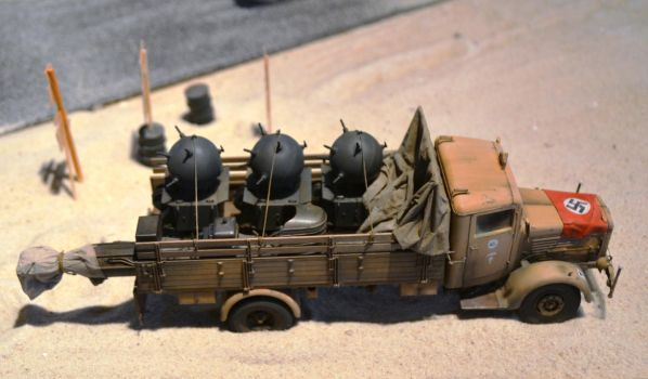 Afrika Korps and sumbarine by c4mper