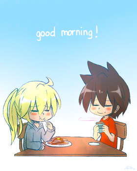 Good morning! by yassui