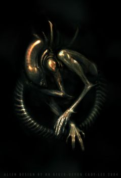 Aliens Poster by Gorrem