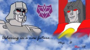 Megatron for President '08 by Klunker-Decepticon