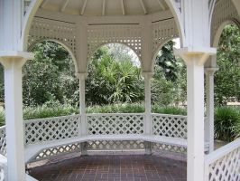 Gazebo Interior Stock by chamberstock