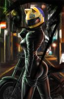 Celty Sturluson by mingkuriboo