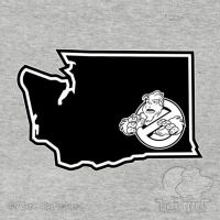 PNW:GB - WASHINGTON STATE (BLK) by btnkdrms