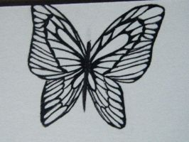Another close up of Butterfly by Art-M0nster