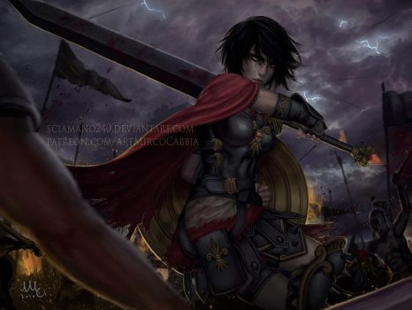 Bellona - Smite by Sciamano240