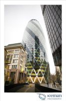 The Gherkin 05 by IcemanUK