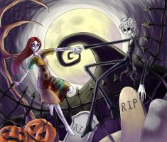 Jack and Sally by lizbomb