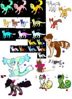 Adopts that still need a home (open) by jenny96ist-adopts